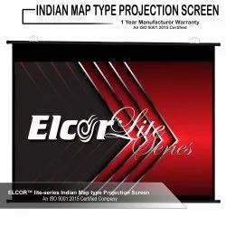 Map Type / Calander Type Projector Screen