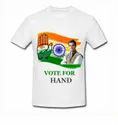 Casual Wear Printed Election T-shirt