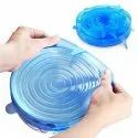 Microwave Safe Silicone Lids Reusable Cover for Bowls Cups Mug