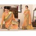 Rachna Art Silk Digital Printed Silkken Dobara Saree Catalog For Women 7