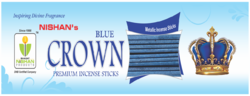 Metallic Blue Incense Sticks