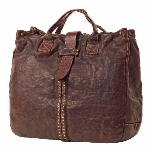 Handmade Leather Handbag at Rs 2400  piece  cdc2867a01b44