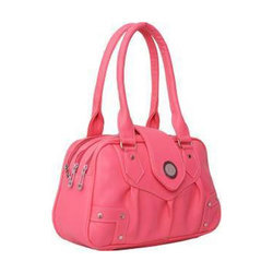 Plain Pink Designer Ladies Bag