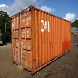 20' GP Used Storage Container