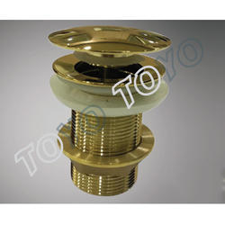 4  inch Golden Pop Up Waste Coupling