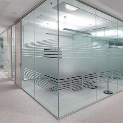 Fixed Glass Partitions