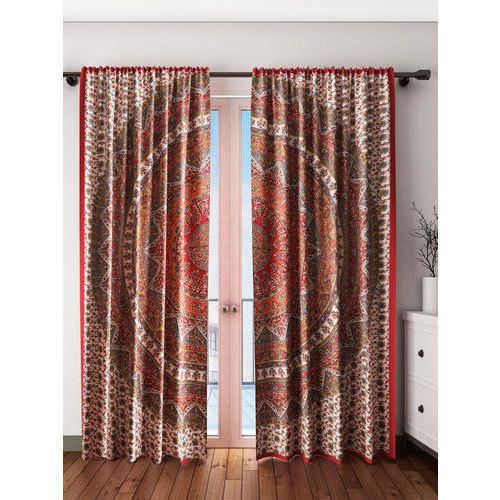 Colors Of India Printed Mandala Curtains