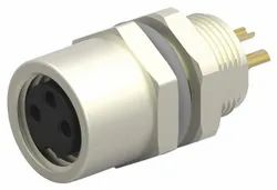 M8 3Pin Female Panel Mount Connector