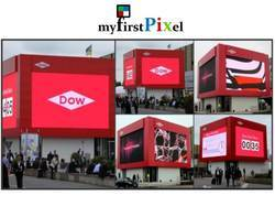 Wall Embedded Type Outdoor LED Screen