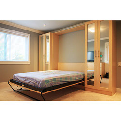 Khatri Wooden Wall Bed