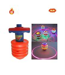 Super Power Laser Top Flashing And Sound Gift Toy