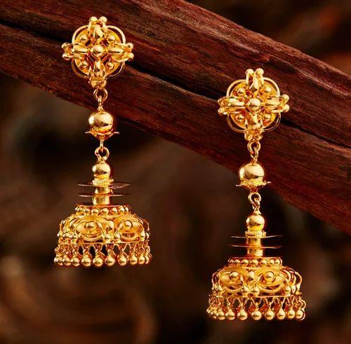 ecf6fb65e5bd1 Gold Earring   Khazana Jewellery Pvt.ltd.   Manufacturer in Rtc Bus ...