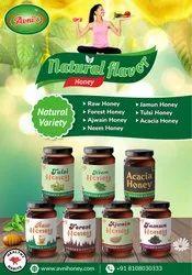 天然风味蜂蜜,包装类型:HDPE罐,包装尺寸:500
