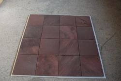 Sandstone Chocolate Leather Finish, for Wall