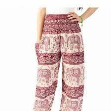 Elephant Print Harem Pants