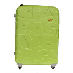 Green Sky bags Luggage Trolley Bag