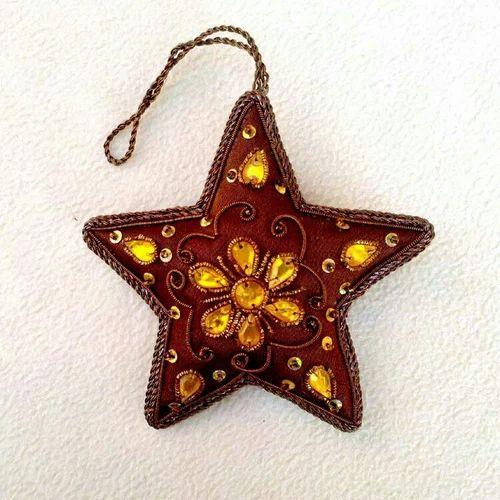 Handmade Christmas Tree Hanging Star