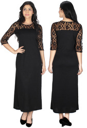 Black Dresses Party Wear Western Dress