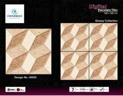 Brown Designer Floor Tile