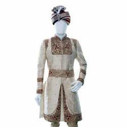 Stitched Wedding Mens Designer Sherwani