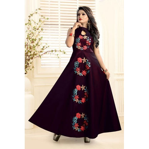 7e29464839 Miraan Creation S-XL Ladies Stylish Party Wear Gown, Rs 1350 /piece ...