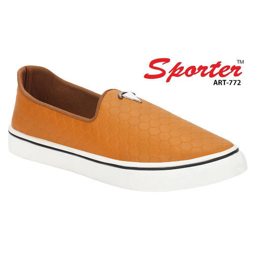 17109061ac8 Sporter Men Brown Canvas Loafers Shoes 772