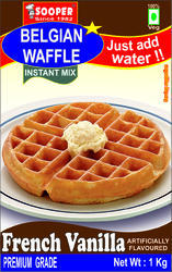 Belgian Waffle PreMix - French Vanilla Flavour