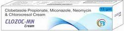 Clobetasole Propionate(USP), Miconazole Nitrate(IP), Neomycin Sulphate(IP), Zinc Sulphate Cream