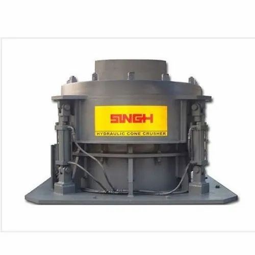 Aggregate Crushing Machine Hydraulic Cone Crusher, Capacity: 100-350 Tph, For Aggregate Crushing