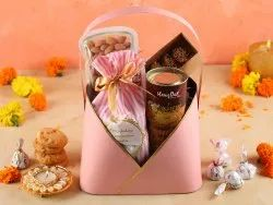 Womens Day Special Pink Hand Box for Gifting