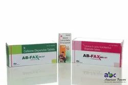 AB-FAX 100 / 200 Mg Tablets