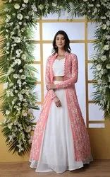 Pr Fashion Launched Latest Trend In Indo-Western Lehenga Choli With Jacket