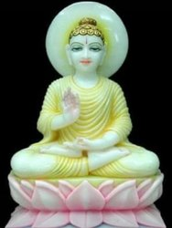 Religious Buddha Marble Statue