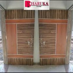 Fiber Reinforced Iron Designer Door