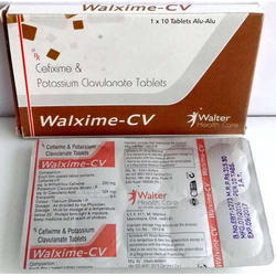 Walter Health Care Cefixime-200 Mg Clavulanic Acid 125 Mg, Packaging Type: Box