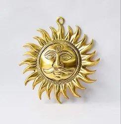 Metal Look Brass Surya Dev