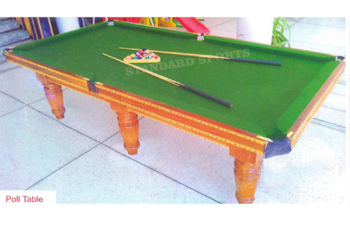 Standard Sports Wooden Pool Billiards Table ID - Human pool table