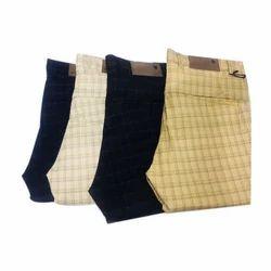 Mens Check Pants