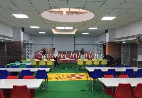 Reception & Cafeteria Renovation