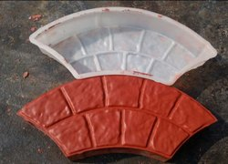 Arch Or Rainbow Plastic Paver Block Mould