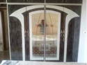 Shree Interior Brown, White Wooden Wardrobe With Mirror, Size/dimension: 8-9 Feet Height