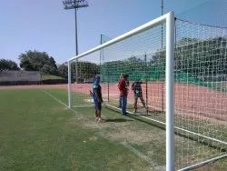 Football Goal Pole Fixed Type MS
