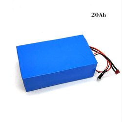 Blue Nmc And Lifepo4 20Ah Solar Batteries, Battery Type: Lion Battery