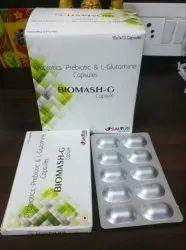 Probiotics, Prebiotic & L- Glutamine Capsules
