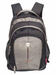 Black & Grey Renault Big Backpack Bag