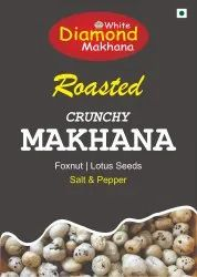 Salt & Pepper Makhana Flavour, Packaging Size: 50 Grams