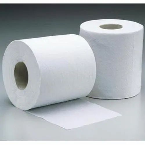 Plain White Toilet Paper Roll, 15-20