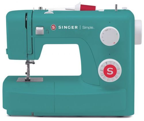 10216796c Singer Simple 3223 Green Color Fashion Maker Sewing Machine at Rs ...
