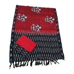 Pochampally Ikat Cotton Dress Material