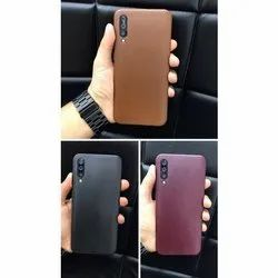 Leather And Soft TPU Leather Mobile Back Cover, Size: 6 Inch